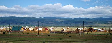 Посёлок около Улан-Удэ
